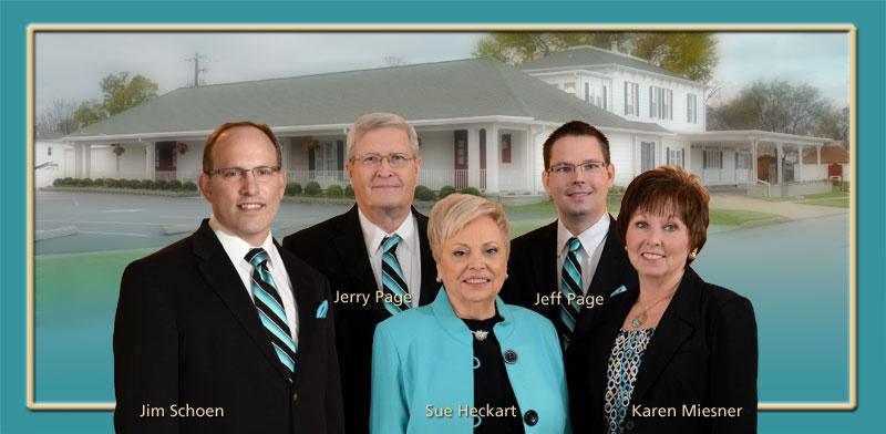 Heckart Funeral Home Staff